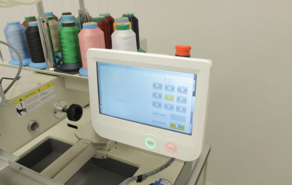 Embroidery Machine Touchscreen