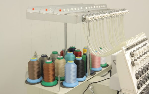 15 Color Single Head Commercial Embroidery Machine