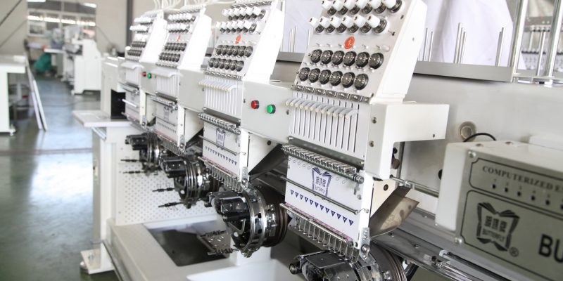 New Embroidery Machines