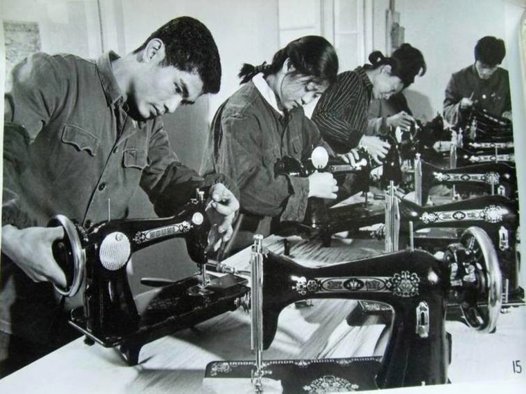 Butterfly sewing machine head assembly Circa 1965 – Since '1919'