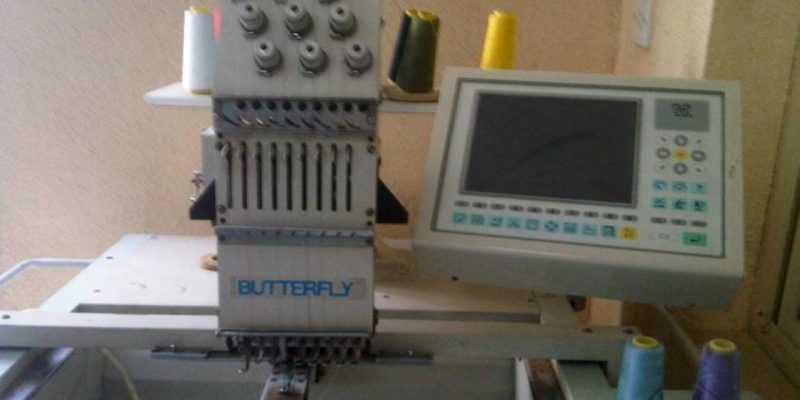 Butterfly trade in and used embroidery equipment