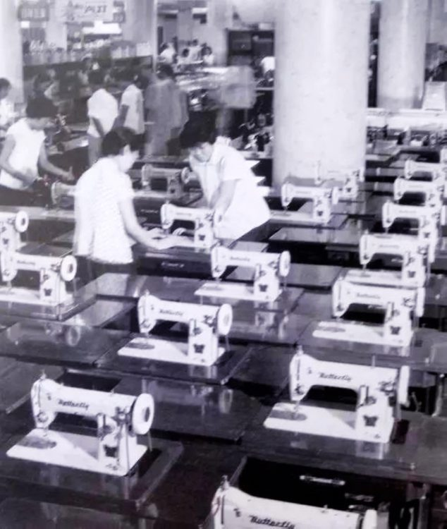 Butterfly Assembly Line from the Past – Since '1919' – http://www.butterflyemb.com/our-history/