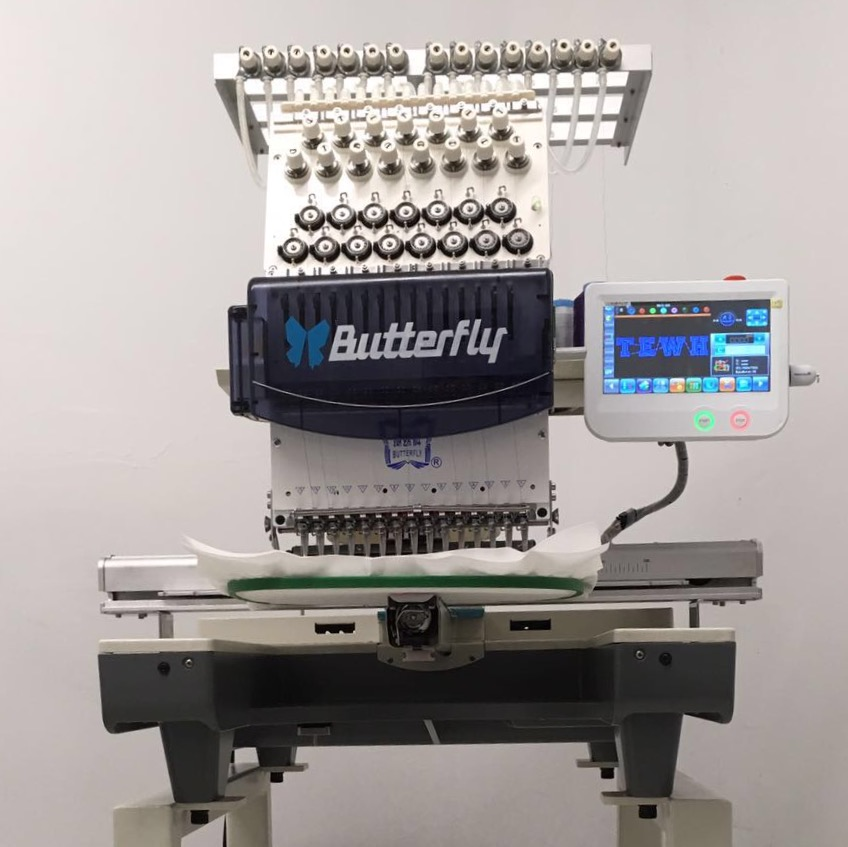 Butterfly Embroidery Machine