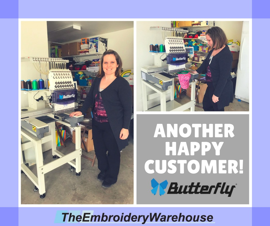Thank again from TheEmbroideryWarehouse!