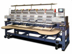 6 head embroidery machines