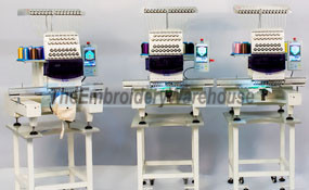 ID# 0875 2015 ButterFly Tri-1503B/T  Multi-head commercial embroidery machine http://www.TheEmbroideryWarehouse.com