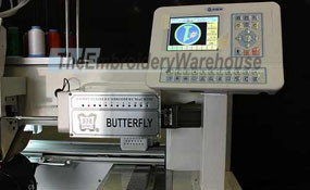 ID# 0964 2015 (New) ButterFly B-1204B/T  Multi-head commercial embroidery machine http://www.TheEmbroideryWarehouse.com