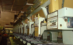 ID#1133 - Tajima TME-HC612 Commercial Embroidery Machine.  Year 1990 Heads: 12 Needles: 6 - www.TheEmbroideryWarehouse.com