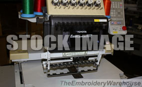 ID#1184 - Toyota 850 Commercial Embroidery Machine.  Year 1997 Heads: 1 Needles: 12 - www.TheEmbroideryWarehouse.com