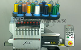 ID# 1287 2012 Melco AMAYA  Single Head commercial embroidery machine http://www.TheEmbroideryWarehouse.com