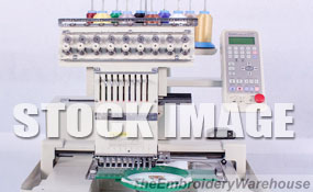 ID# 1296 1997 Toyota 830  Single Head commercial embroidery machine http://www.TheEmbroideryWarehouse.com