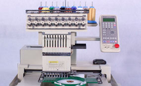 ID# 1297 1997 Toyota 830  Single Head commercial embroidery machine http://www.TheEmbroideryWarehouse.com
