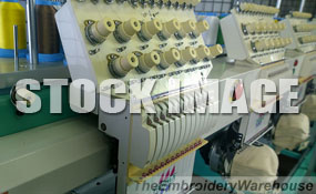 ID#1316 - Tajima TMFX-C1204-S Commercial Embroidery Machine.  Year 1993 Heads: 4 Needles: 12 - www.TheEmbroideryWarehouse.com