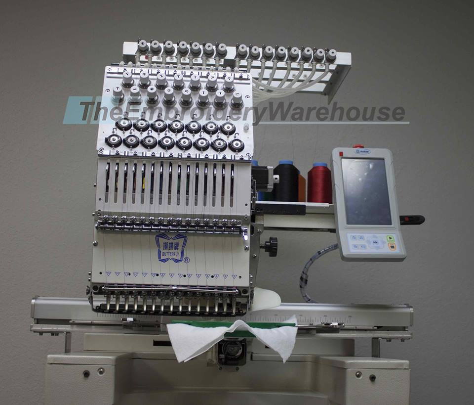 ButterFly B-1501 - Single head embroidery machine