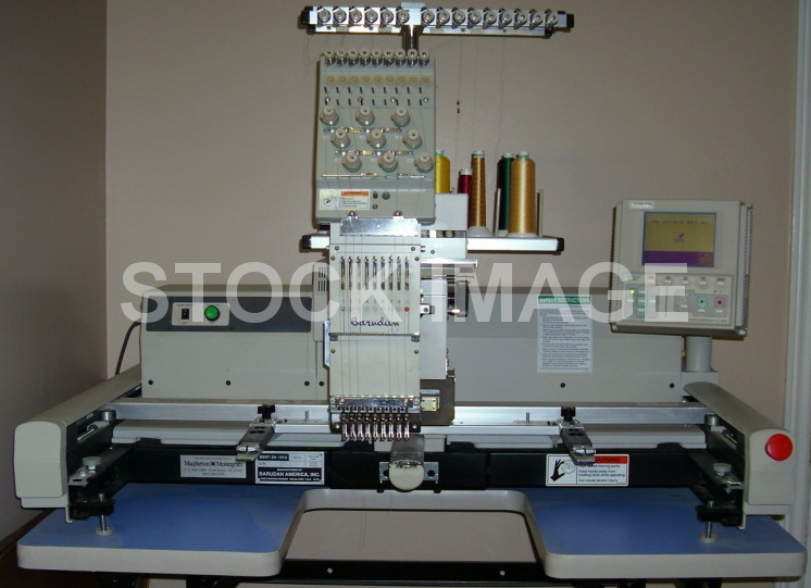 Used Barudan Embroidery Machine - Barudan TANTO BENT ZN 101