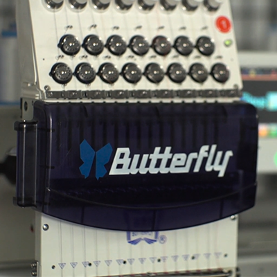New Embroidery Machines - Butterfly