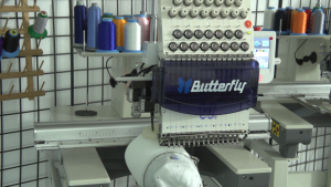 Single Head Cap Embroidery Machine Package