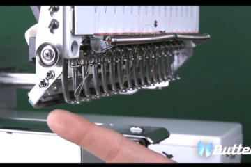 Embroidery Machine Grabber Adjustments