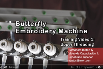 How to Thread Embroidery Machine