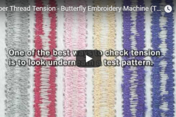 Embroidery Thread Tension
