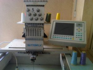 Butterfly Embroidery Machines of the Past