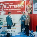 Butterfly Embroidery Machine Trade Show - Circa late 1980s - Since '1919' - http://www.butterflyemb.com/our-history/