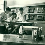 Butterfly Engineering Room - Circa 1975 - Since '1919' - http://www.butterflyemb.com/our-history/