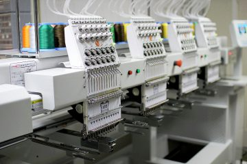 ButterFly commercial 4 head Embroidery Machine