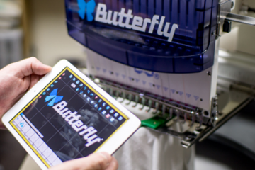 How does the Butterfly Embroidery Machine compare
