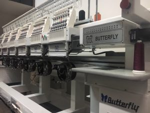 Butterfly 6 Head Commercial Embroidery Machine