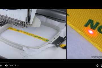 Embroidering on a Dog Collar / Leash