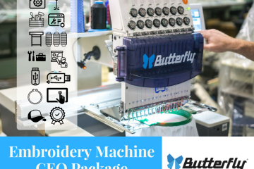 Why the Butterfly CEO Embroidery Machine Package