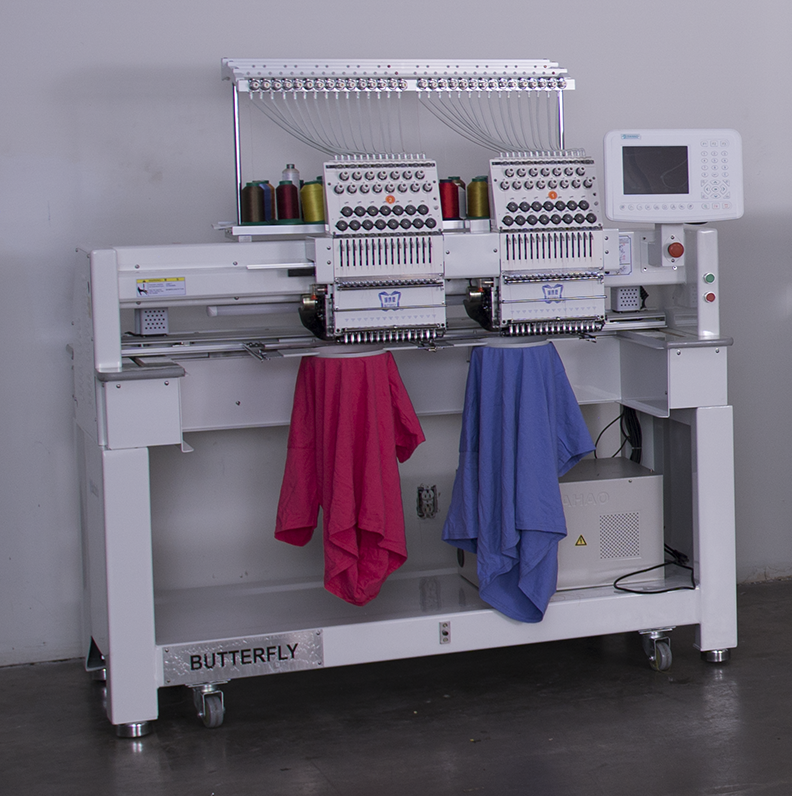 Butterfly 2 Head Embroidery Machine – 1502 B/T