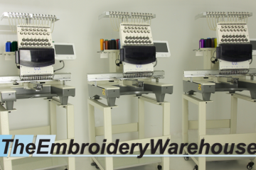 3 head Commercial Embroidery Machine