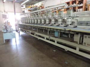 Barudan BENSME-YN-15T Used Embroidery Machine