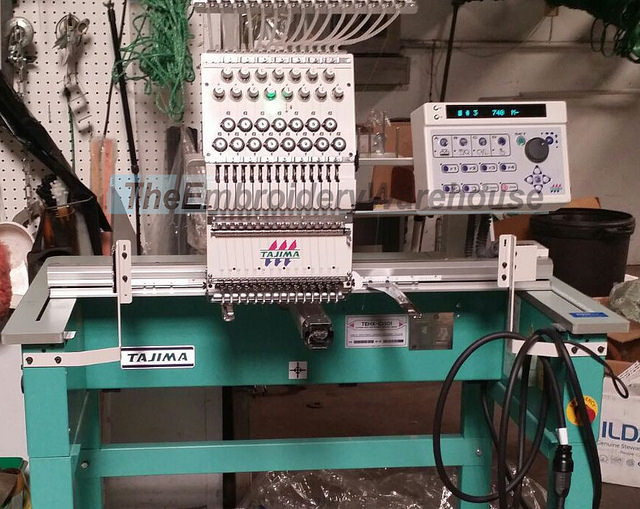 Sell me your Tajima single head Embroidery Machine