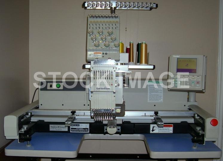 Used Barudan Embroidery Machine - Barudan TANTO BENT ZN 101