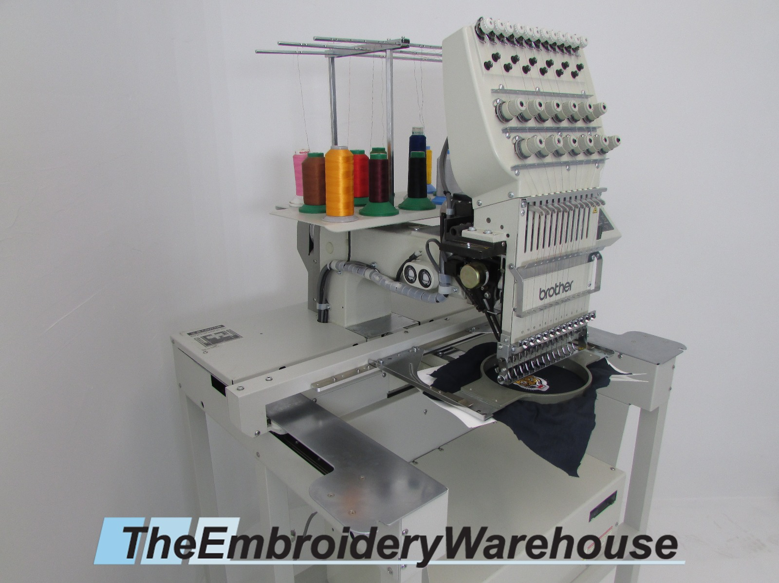 USED Brother BES-1210AC Commercial Embroidery Machine