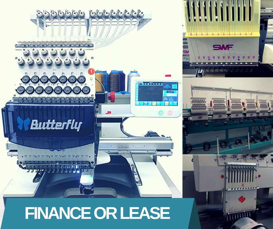 Finance or Lease your Embroidery Machine