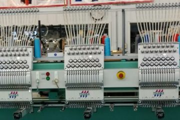 Tajima commercial embroidery machines
