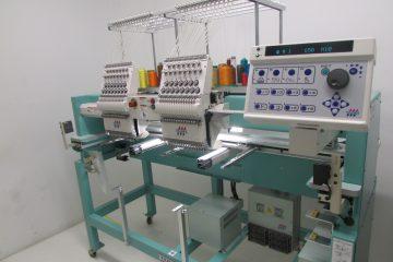 USED Tajima TFHX-IIC1502 - 15 Needles - 2 Head - Commercial Embroidery Machine