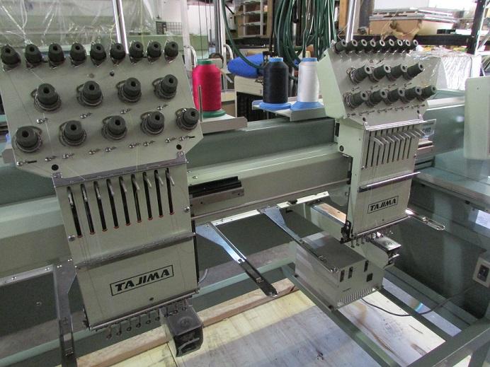 Used Tajima Tmfx C902 9 Needles 2 Head Commercial