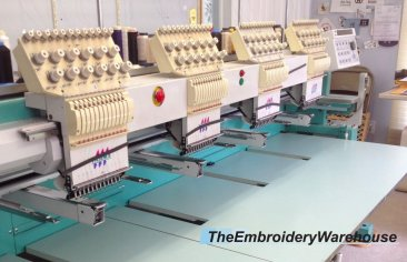 Used Embroidery Machines >> Used Tajima Tmfx C1204 S 4 Heads 12 Needles Commercial